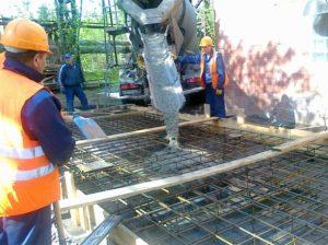 Что такое бетонная смесь с изюмом сколько становится бетон