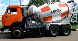 бетонные работы транспортирование бетонной смеси