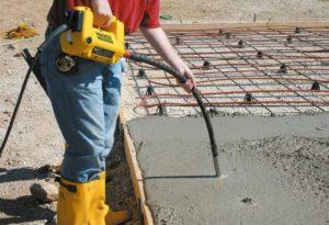 бетонные смеси по типу бетона